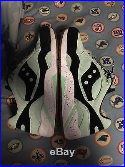 Saucony G9 Shadow 6 Scoops Pack Mint Chocolate Chip Ice Cream Size 12 Used Vnds