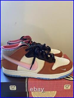 Social Status x Nike Dunk Free Lunch Chocolate Milk DJ1173-700