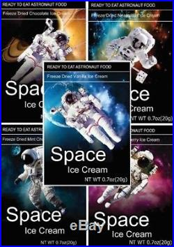 Space Freeze Dried Ice Cream (25 Count)