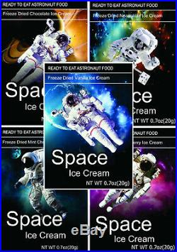 Space Freeze Dried Ice Cream 25 ct