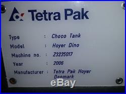 TETRA PAK Choco Tank Hoyer Dino Chocolate Melter Ice Cream Water Jacketed 2006