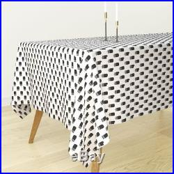 Tablecloth Black And White Chocolate Popsicle Summer Ice Cream Cotton Sateen