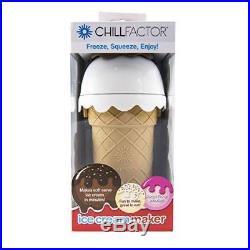 The Chill Factory 20067062 Chill Factor Ice Cream Maker, Chocolate Delight