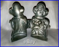 The Yellow Kid Figural Pewter Ice Cream Candy Chocolate Mold