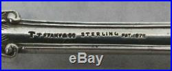 Tiffany Olympian Sterling Silver 5 5/8 Chocolate / Old Ice Cream Spoon
