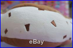 Tokyo Disney Resort Chocolate Chip Mickey Mouse Ice Cream Sandwich Pillow Japan
