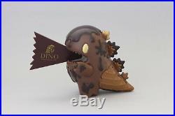UNBOX INDUSTRIES Chocolate Ice Cream Little Dino TOO NATTHAPONG Arttoy Figure