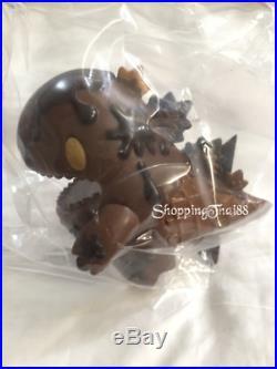 UNBOX STS ZIQI Dark Chocolate Ice Cream Dino Monster Little Vinyl Designer Toy