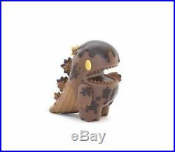 UNBOX ZIQI Dark Chocolate Ice Cream Dino Monster Little Vinyl Designer Toy