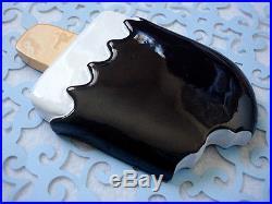 USA HTF XL Brown Chocolate Ice Cream Stick Flatback Resin Cabochon DIY deco FLAW