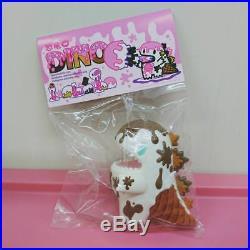 Unbox Industries x Ziqi Exclusive #Chocolate Ice Cream Dino Dinosaur Soft Vinyl