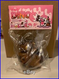 Unbox Monster Little Ziqi Dark Chocolate Ice Cream Dino Soft Vinyl Figure