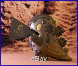 Unbox Monster Ziqi Dino DARK Chocolate ICE CREAM Version Sofubi Vinyl Figure