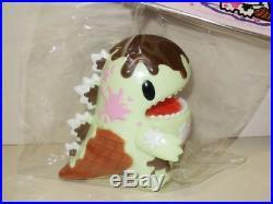 Unbox x Monster Little Ziqi Dino Chocolate Mint Ice Cream Version Vinyl Figure