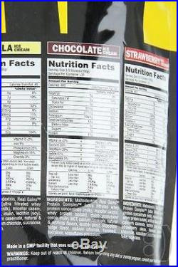 Universal Nutrition Real Gains, Chocolate Ice Cream, 10.6-Pounds