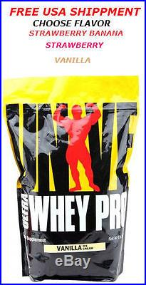 Universal Nutrition Ultra Whey Pro 10 lbs All Flavors 22 grams of protein
