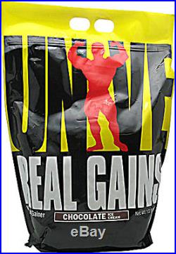Universal REAL GAINS Mass Gainer Protein 10.6 lbs 31 Servings CHOOSE FLAVOR