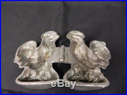 Vint E Company Pewter Candy Chocolate Ice Cream Butter Mold Chicken Rooster 845