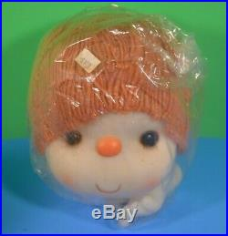 Vintage Doll Yarn Heads Hands J. Shin & Co + Wang IntL Ice Cream 7 New Chocolate
