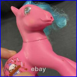 Vintage My Little Pony Chocolate Delight Sippin' Soda Ice Cream. G1 1987
