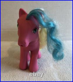 Vintage My Little Pony Chocolate Delight Sippin' Soda & Ice Cream G1 1987 HTF