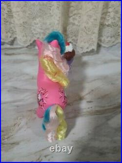 Vintage My Little Pony G1 Sippin' Soda Chocolate Delight With ice cream accessory