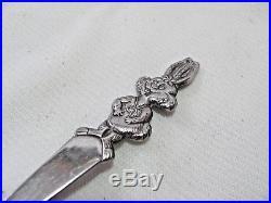 Vintage Nestle Quik Bunny Long Handle Chocolate Milk Spoon 7-1/2 Ice Cream Sod