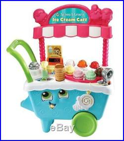 Vtech Leapfrog Scoop Learn Sweet Ice Cream Cart Magic Scooper Colors Flavors Kid
