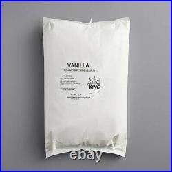 W6 Pack 6 Lb (36 Lb) Non-Dairy Vanilla Soft Serve Mix Machine Ice Cream Bag Case