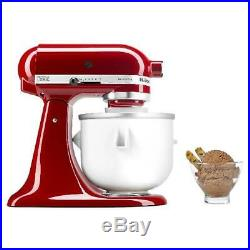 Whirlpool Ice Cream Maker Stand with Mixer Attachment