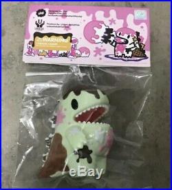 Ziqi Wu Green Tea Chocolate Ice Cream Dino Unbox Industries Vinyl Figure